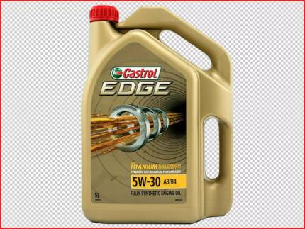 Castrol Edge Engine Oil - 5W - 30 Full Synthetic 5 Litre