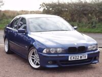 BMW E39 530d M Sport Saloon, Manual, 2002, 1 Year MOT, 167k Miles
