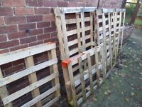 Wooden Pallets - 10 off - Firewood or Haulage Delivered within 5 Miles of NE40 - £20