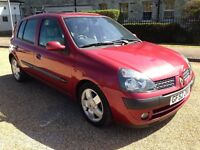 Renault Clio 1.5 Diesel 2002 With One Year MOT,��30 Tax a Year
