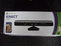 Xbox 360 Kinect Sensor with all wires and 6 Kinect Games: