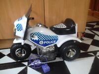 Electric kids Police Bike