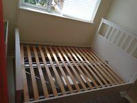 IKEA Hemnes double bed, no mattress