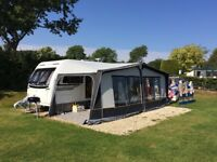 Beautiful and nearly new family caravan