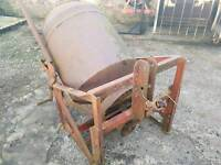 Cheap tractor pto driven cement mixer made by teagle