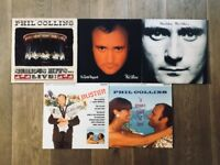 "Job Lot of Five Phil Collins 12"" Vinyl Records 1981-90"