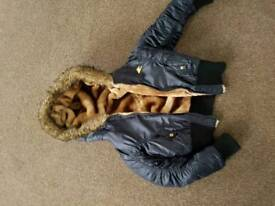 Coats and size 5 heels