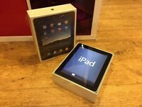 Apple iPad silver (A1219) boxed with manual and USB charger cable
