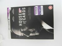 DVD of The complete four seasons of the House of Cards