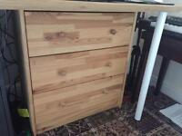 IKEA drawers 3 pine