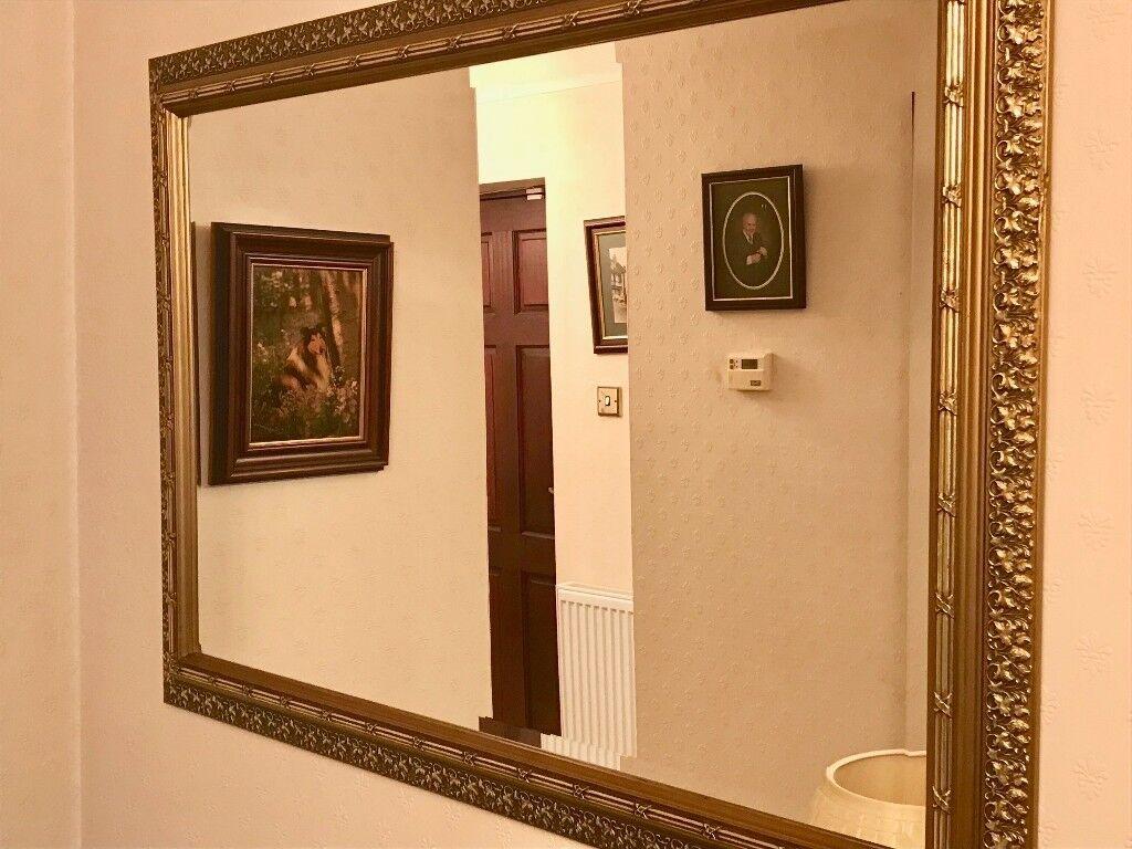 Large Ornate Decorative Wall Mirror - Wall Decor Ideas