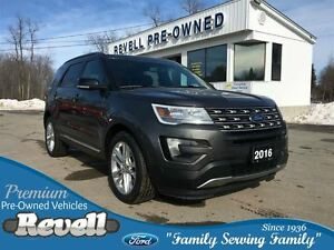 2016 Ford Explorer XLT 4WD  *1-owner Leather Nav Power Liftgate