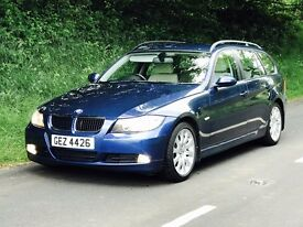 Mint 2006 BMW 320D SE Touring 6 speed ONLY 95K WITH FSH. TRADE IN CONSIDERED, CREDIT CARDS ACCEPTED