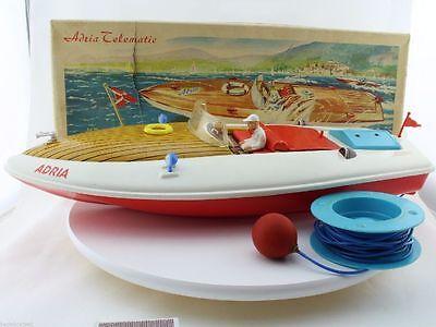MS 776/06 Adria Telematic ca. 1960 gut erhaltenes Boot in Originalverpackung