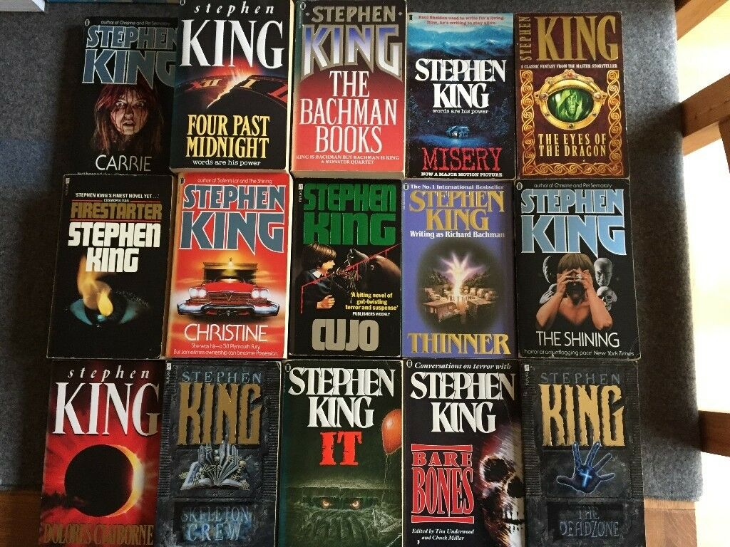 english research paper on stephen king View essay - english 100 stephen king essay from eng 100 at university of wisconsin,  english 100 online education research paper.