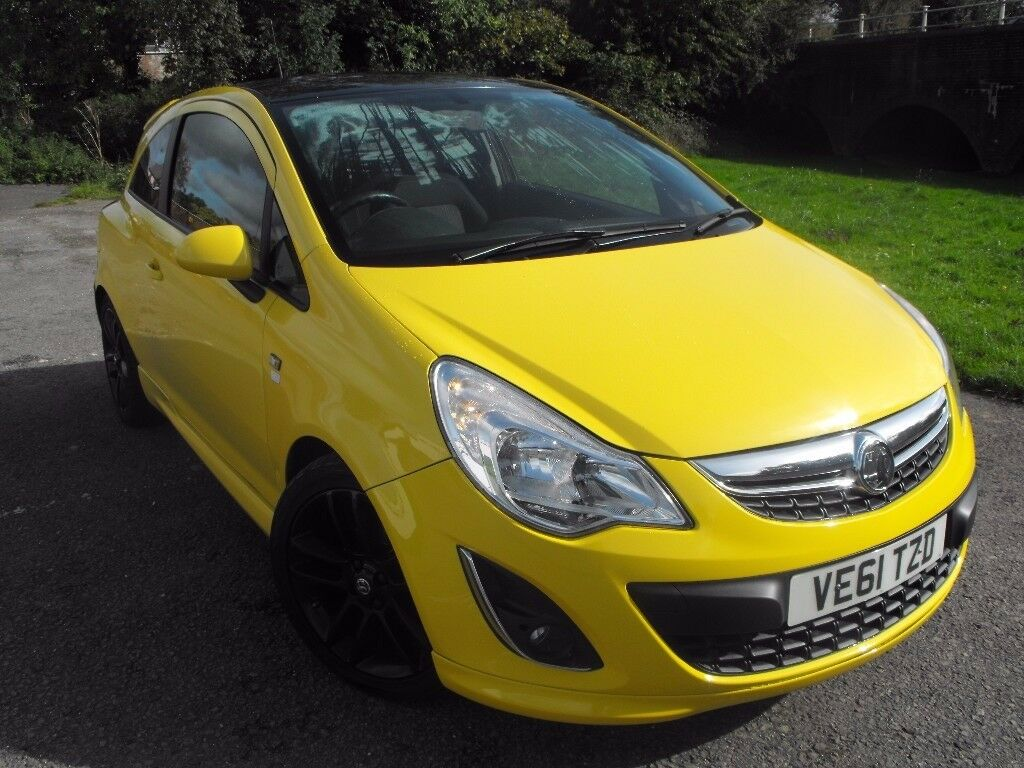 ***2012 vauxhall Corsa limited edition 1.2 petrol ***