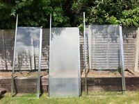 3 shower screens