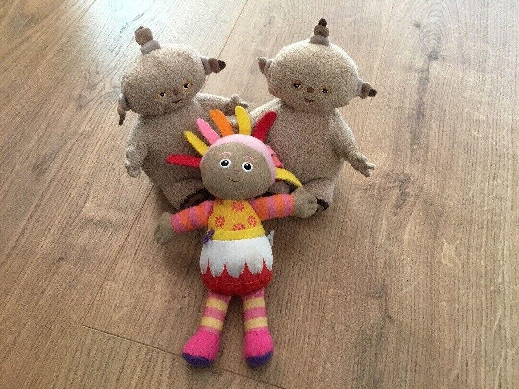Makka Pakka and Upsey Daisy toys - In the Night Garden