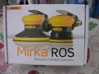 MIRKA-ROS-Random-Orbital-Palm-Sander