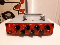'Alex Bass' Handmade Valve Bass Preamp and DI Box