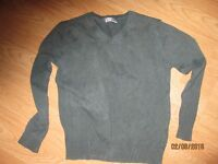 Green jumper size 11-12 yrs by Top Class. Ideal for school