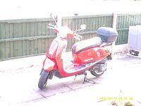 red 125 scooter for sale