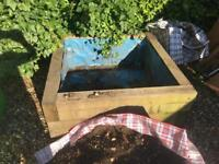 Raised Bed Wooden Garden