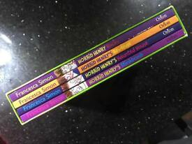 Set of 4 Horrid Henry books - mint, unread