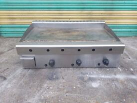 Archway 3 Burner Gas Griddle NAT GAS commercial griddle solid top heavy duty