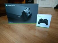 New Xbox One X: Boxed with controller