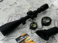 Hawke rifle scope