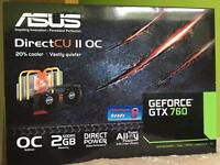 Asus Nvidia GeForce GTX 760 PC Graphics Card