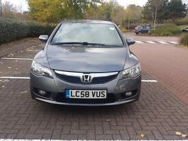Honda Civic 1.3 IMA Hybrid 4dr Automatic very low milage