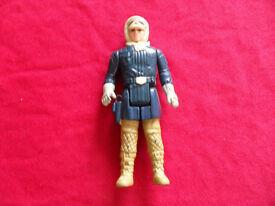 Star Wars original Han Solo figure from 1980.