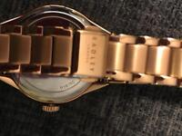 Radley rose gold watch