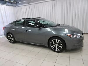 2017 Nissan Maxima SL SEDAN WITH NAV, BACKUP CAM, SUNROOF, BLUET