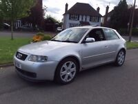 2001 AUDI S3 SILVER FULLY LOADED CRUISE CONTROL DOUBLE DIN XENONS HEATED LEATHERS PERFECT