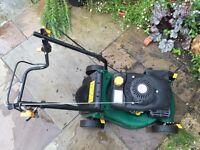 B&Q petrol lawn mower