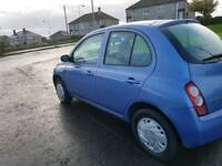 Nissan Micra 1.3 AUTOMATIC  Hatchback 5 Doors + LOW MILEAGE and 1 YEAR MOT