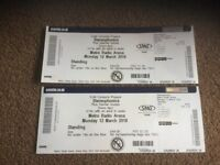 Stereophonics Standing Tickets x 2 Metro Radio Arena 12th March