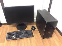 Gaming Computer PC Setup (Monitor, accessories, Games included) - Quad Core, Nvidia Graphics