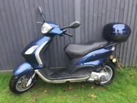 Piaggio fly 125cc one year mot full logbook £650
