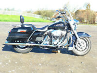 Harley Davidson Road King FLHR 2007 Black / Chrome