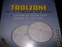 2 pc tc t circular saw blades