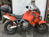 2001 honda xl1000 varadero running very well long mot good clean reliable bike only £1600