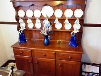 large solid welsh dresser