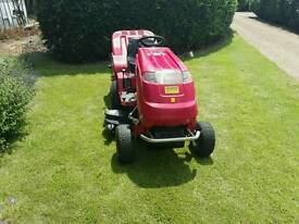 Countax ride on mower c600h
