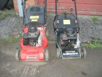 PETROL LAWNMOWERS,,£60-EACH,,MAKE AN OFFER