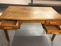 1950's/60's Wooden Teachers Desk