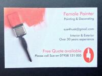 Female Painter and Decorator